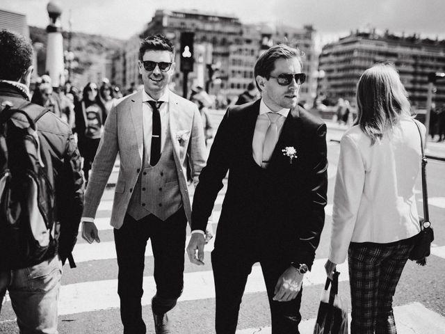 La boda de Rob y Vanessa en Donostia-San Sebastián, Guipúzcoa 44