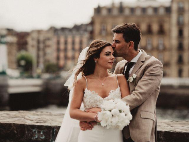 La boda de Rob y Vanessa en Donostia-San Sebastián, Guipúzcoa 122