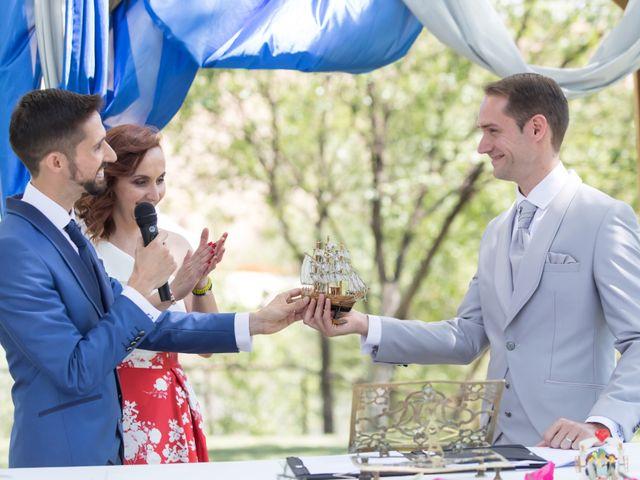 La boda de Carlos y Iván en Arganda Del Rey, Madrid 19