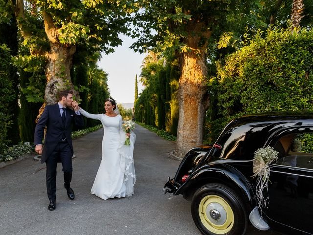 La boda de Carlos y Eva en Granada, Granada 63