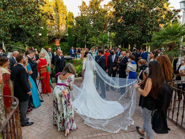 La boda de Carlos y Eva en Granada, Granada 65