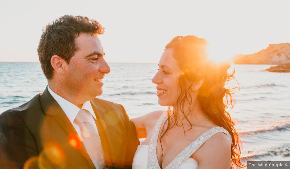 La boda de Julio y Inma en Santa Eularia Des Riu, Islas Baleares