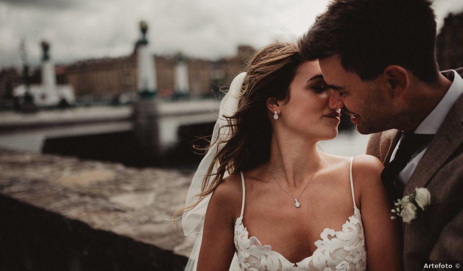La boda de Rob y Vanessa en Donostia-San Sebastián, Guipúzcoa