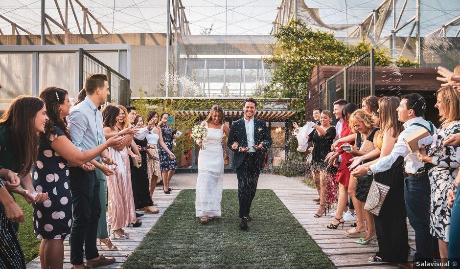 La boda de Gustavo y Marta en Zaragoza, Zaragoza