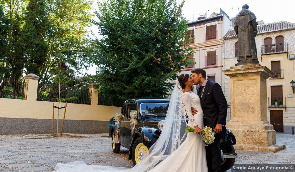 La boda de Carlos y Eva en Granada, Granada