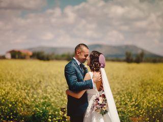 La boda de Consoli y Edu