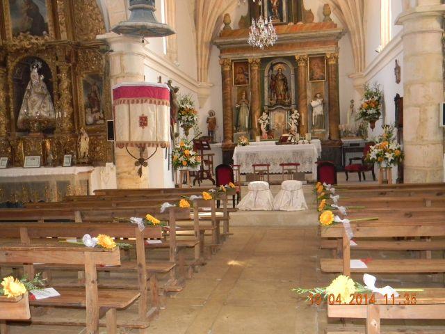 La boda de Gabriel  y María Pilar en Domingo Garcia, Segovia 5
