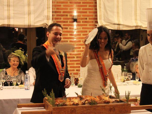 La boda de Gabriel  y María Pilar en Domingo Garcia, Segovia 1