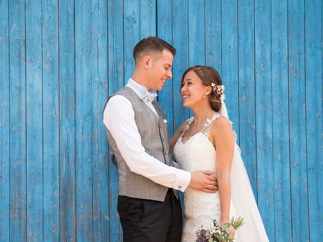 La boda de Andrea y Aaron