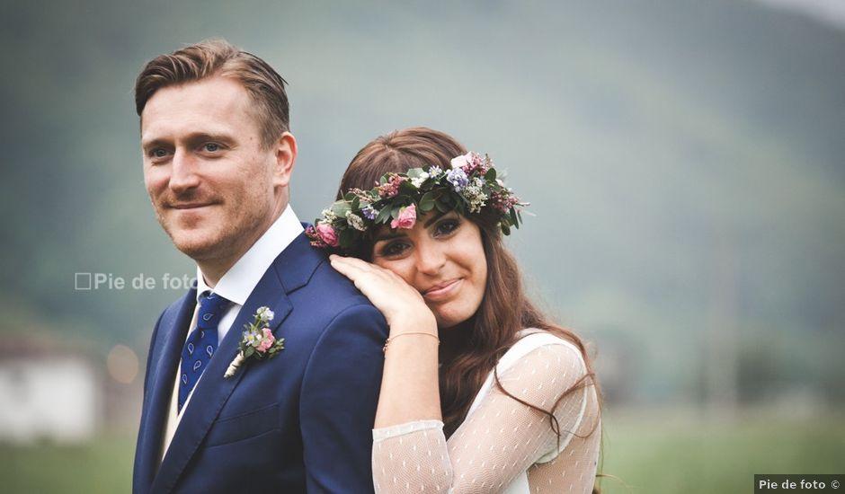 La boda de Piers y Marta en Grado, Asturias