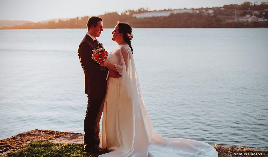 La boda de Javi y Cris en Ferrol, A Coruña