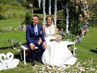 La boda de Sabrina  y David