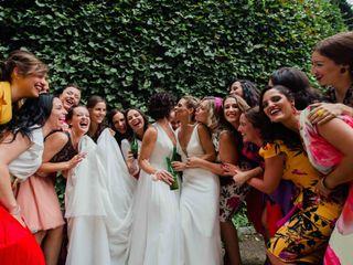 La boda de Mariade y Eva