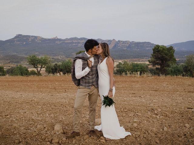 La boda de Toni y Heura en Gandesa, Tarragona 7