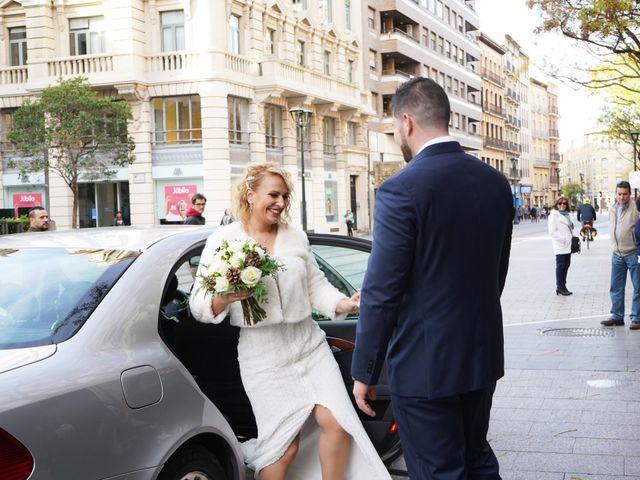 La boda de Guillermo y Eva en Zaragoza, Zaragoza 61