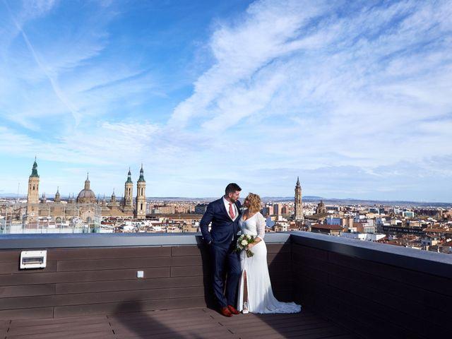 La boda de Guillermo y Eva en Zaragoza, Zaragoza 152