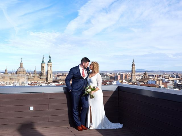 La boda de Guillermo y Eva en Zaragoza, Zaragoza 117