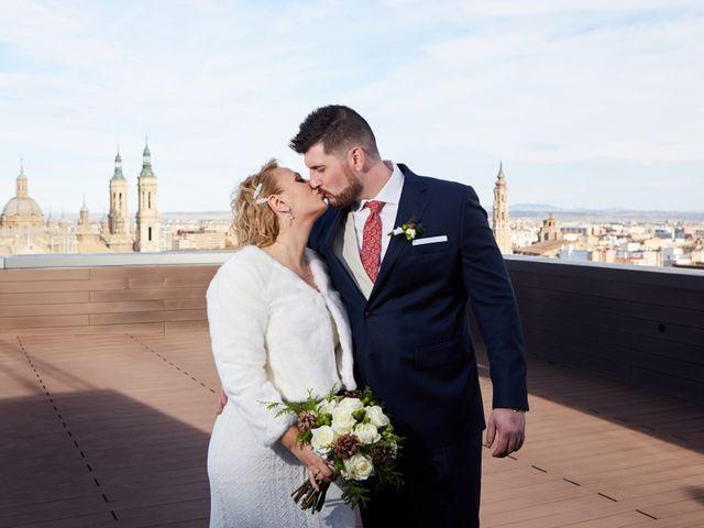 La boda de Guillermo y Eva en Zaragoza, Zaragoza 122