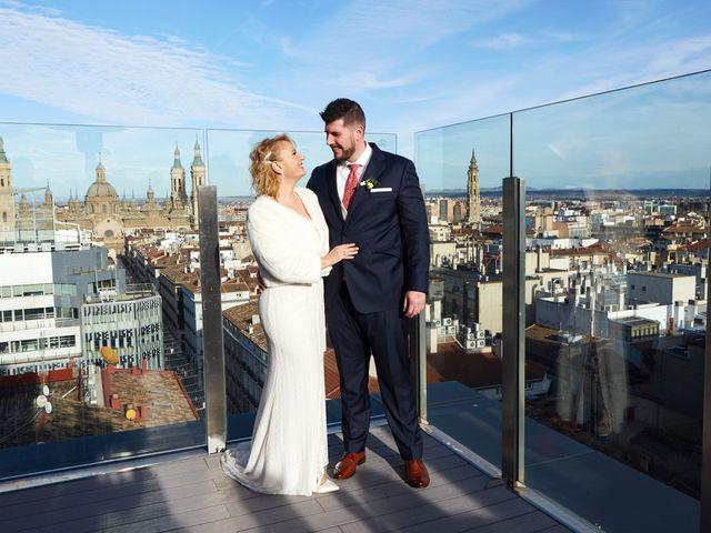 La boda de Guillermo y Eva en Zaragoza, Zaragoza 127
