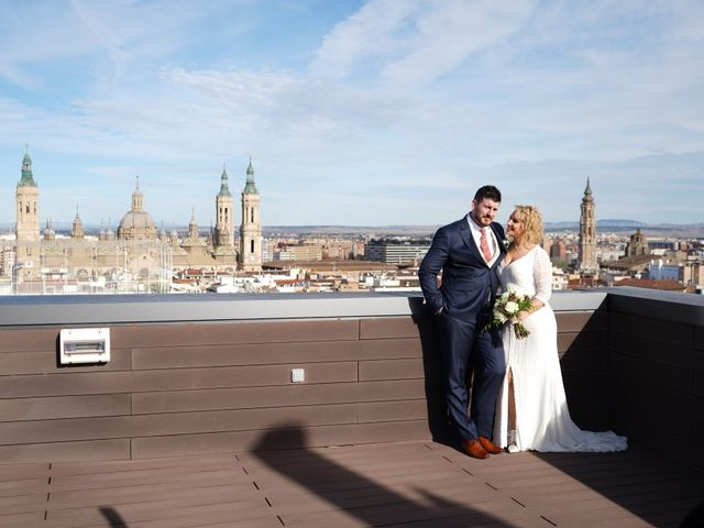 La boda de Guillermo y Eva en Zaragoza, Zaragoza 140