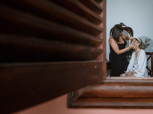 La boda de Santi y Carol en La Orotava, Santa Cruz de Tenerife 14