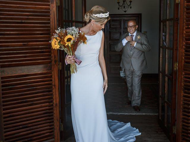La boda de Santi y Carol en La Orotava, Santa Cruz de Tenerife 1