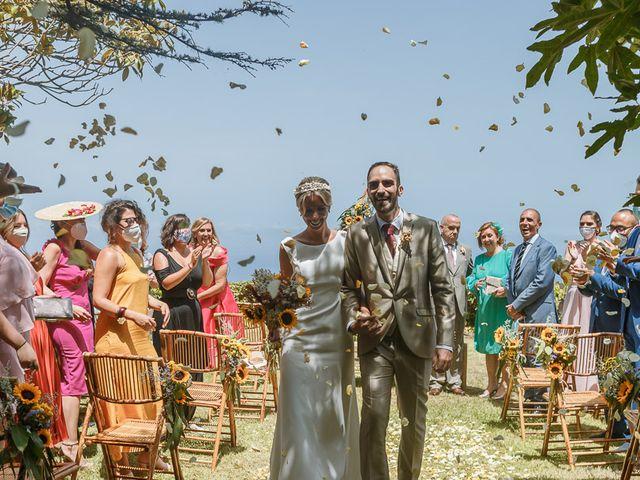 La boda de Santi y Carol en La Orotava, Santa Cruz de Tenerife 42