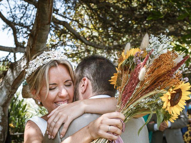 La boda de Santi y Carol en La Orotava, Santa Cruz de Tenerife 2