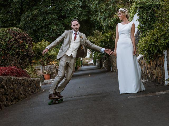 La boda de Santi y Carol en La Orotava, Santa Cruz de Tenerife 50