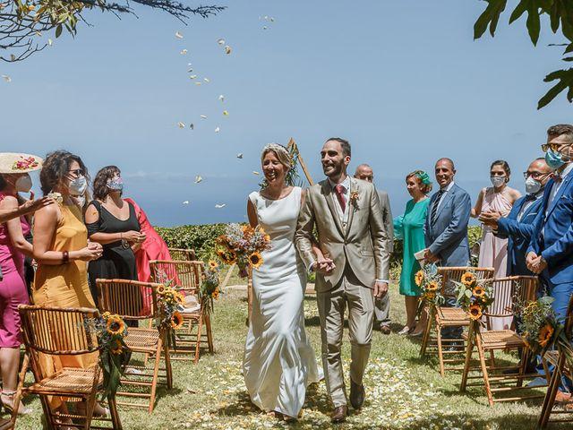 La boda de Santi y Carol en La Orotava, Santa Cruz de Tenerife 87