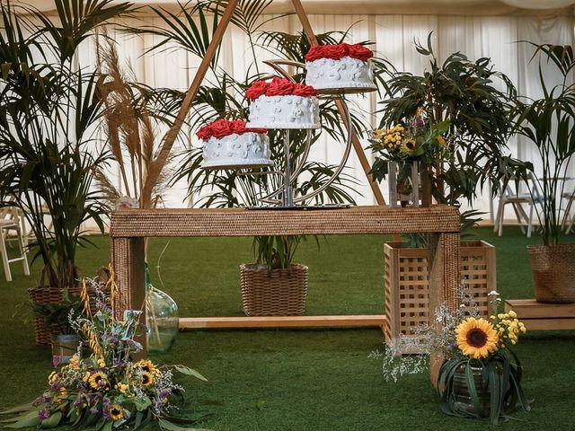 La boda de Santi y Carol en La Orotava, Santa Cruz de Tenerife 90