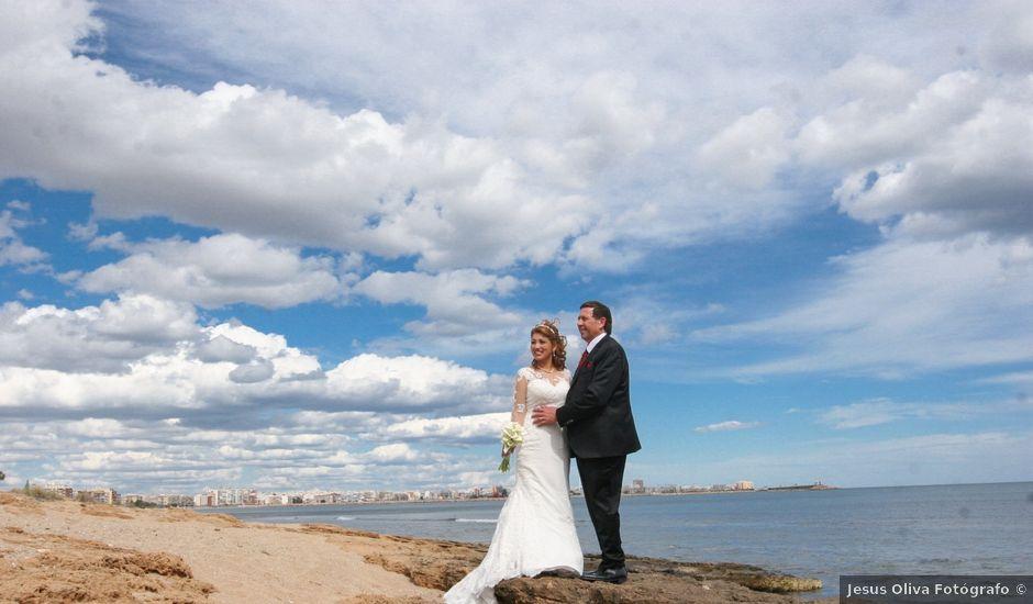 La boda de Hanspeter y Maritza en Torrevieja, Alicante