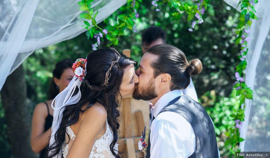 La boda de Marco y Elisa en Llinars Del Valles, Barcelona