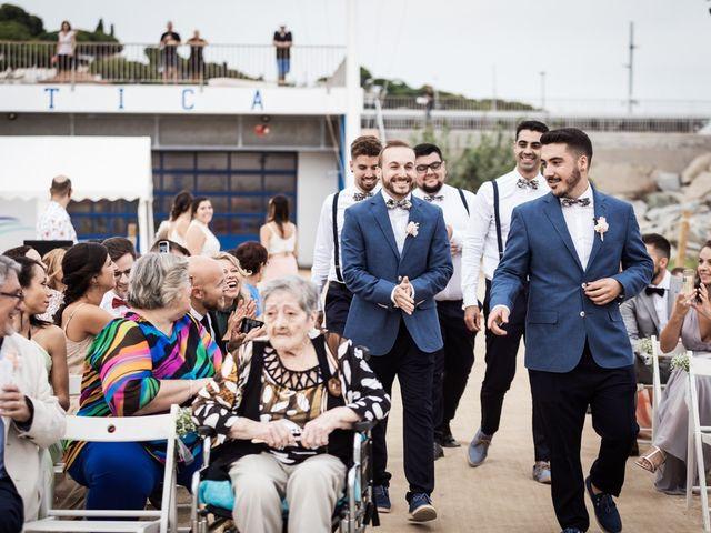 La boda de Ruben y Desirée en Arenys De Mar, Barcelona 34
