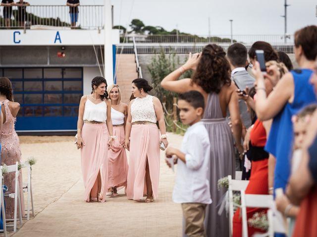 La boda de Ruben y Desirée en Arenys De Mar, Barcelona 39