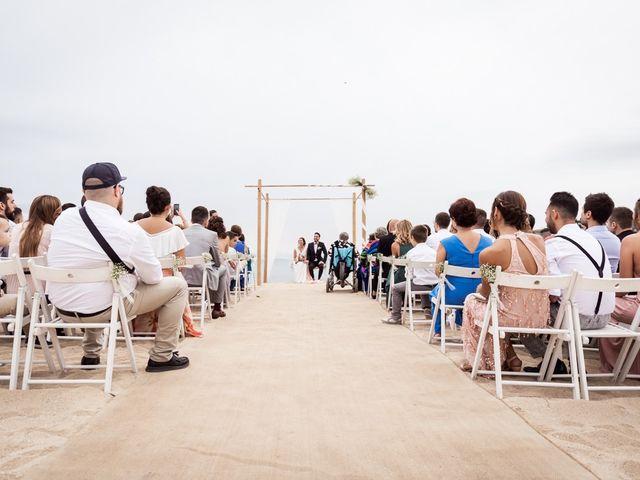 La boda de Ruben y Desirée en Arenys De Mar, Barcelona 43