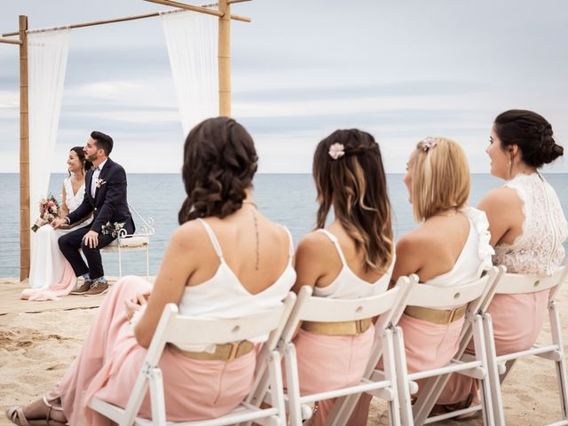 La boda de Ruben y Desirée en Arenys De Mar, Barcelona 44