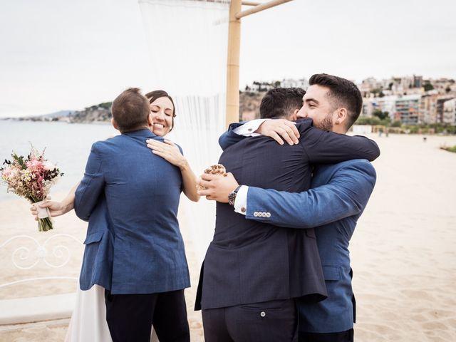La boda de Ruben y Desirée en Arenys De Mar, Barcelona 63