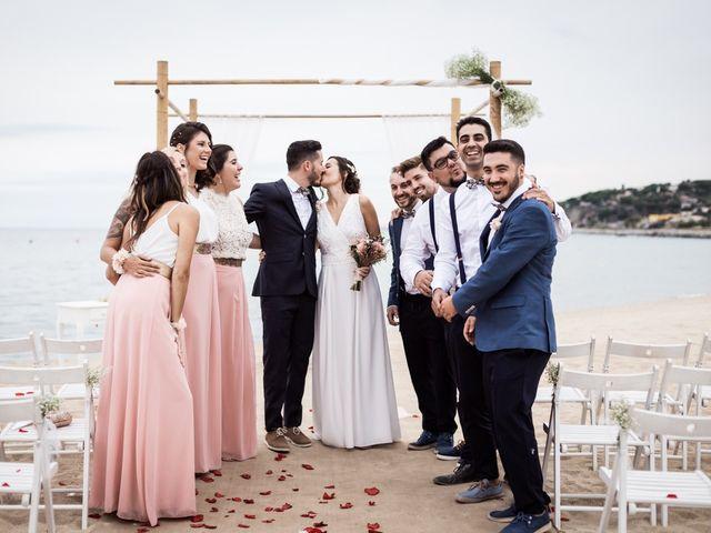 La boda de Ruben y Desirée en Arenys De Mar, Barcelona 71