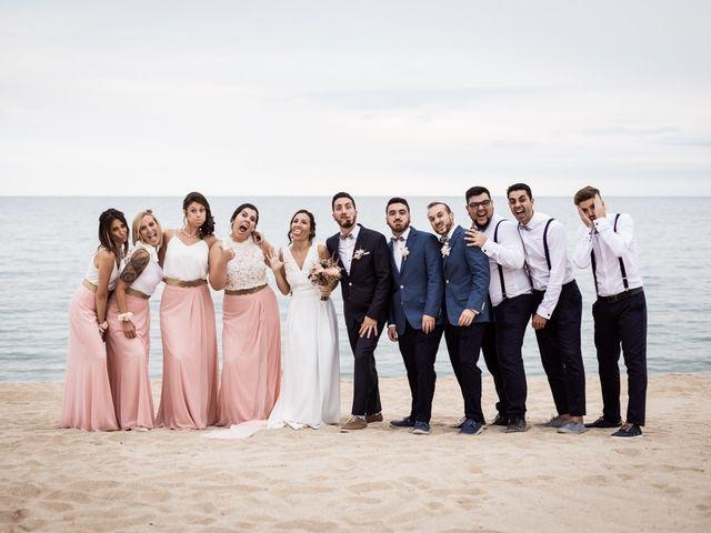 La boda de Ruben y Desirée en Arenys De Mar, Barcelona 73