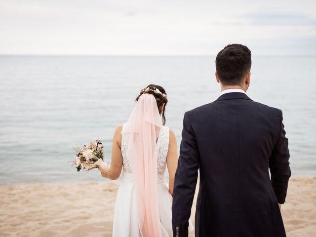 La boda de Ruben y Desirée en Arenys De Mar, Barcelona 77