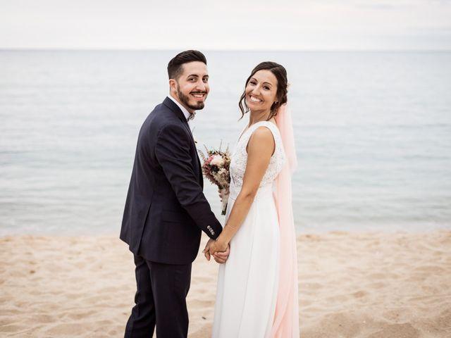 La boda de Ruben y Desirée en Arenys De Mar, Barcelona 86