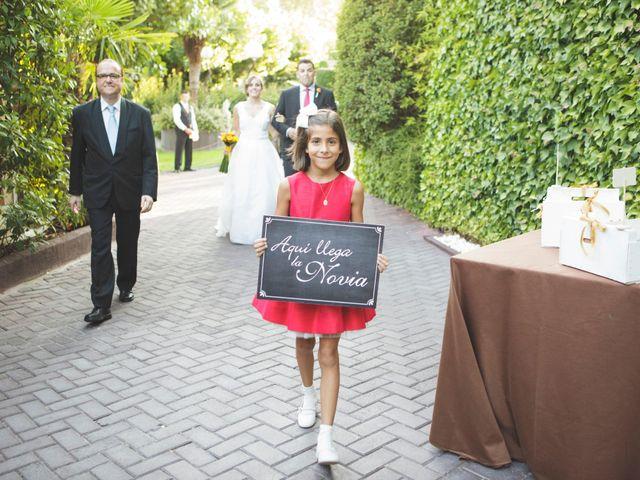 La boda de José Luis y Itziar en El Molar, Madrid 31
