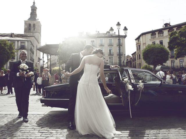 La boda de Samuel y Adriana en Segovia, Segovia 16