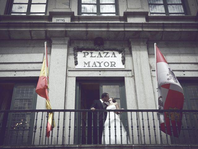 La boda de Samuel y Adriana en Segovia, Segovia 28