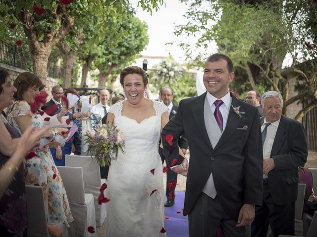 La boda de César y Arancha en Chinchon, Madrid 7