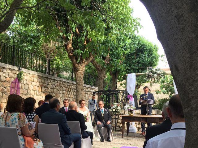 La boda de César y Arancha en Chinchon, Madrid 14