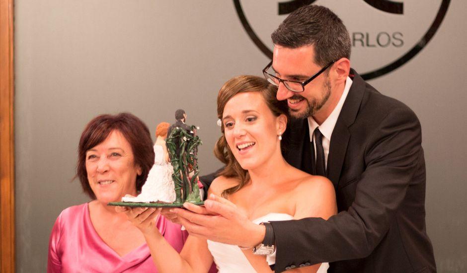 La boda de Sergio  y Leire  en Huarte-pamplona, Navarra