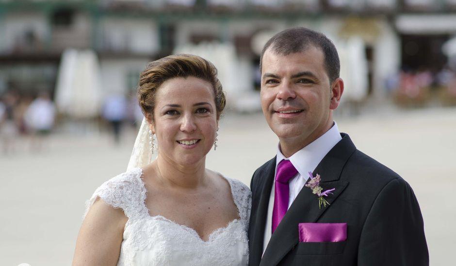 La boda de César y Arancha en Chinchon, Madrid