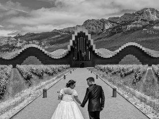 La boda de Tamara y Alex